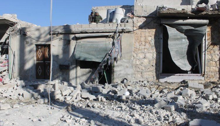 آثار القصف في الشيخ مقصود – أرشيف