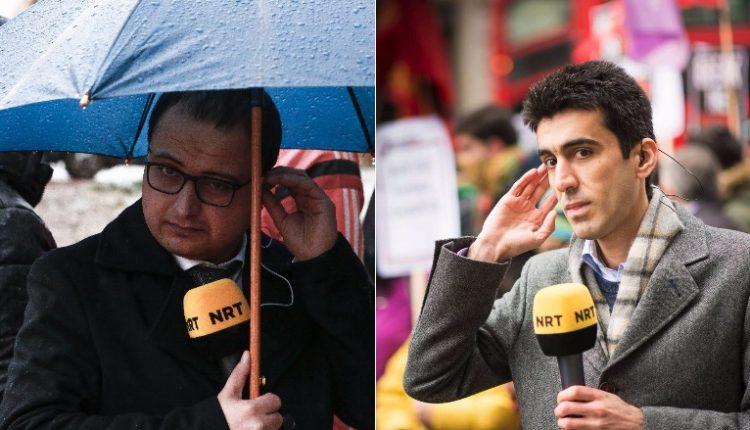 سرهنك حارس وهلكورد صمد، مديرا مكتبي NRT في لندن وباريس