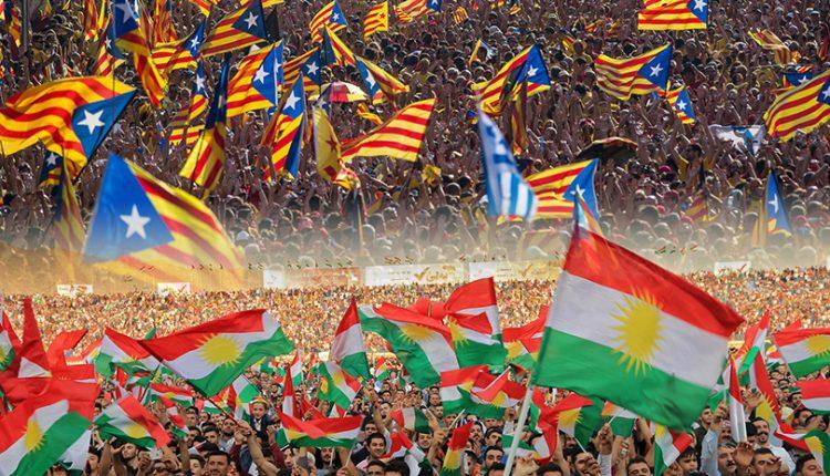 يطالب إقليم كتالونيا في إسبانيا بالاستقلال عن الحكومة المركزية