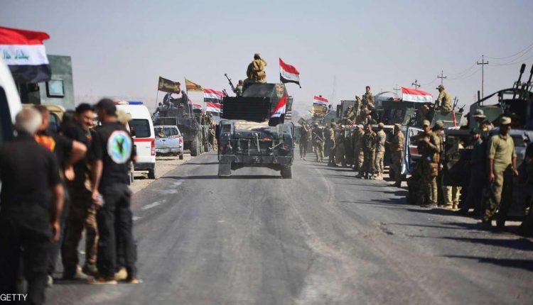 قوات من الجيش والحشد الشعبي العراقي