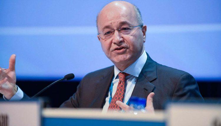 الرئيس السابق لحكومة إقليم كردستان برهم صالح