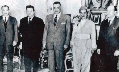 """طالباني جمال عبدالناصر - بالصور """"مام جلال"""" تاريخ من النضال الكردي"""
