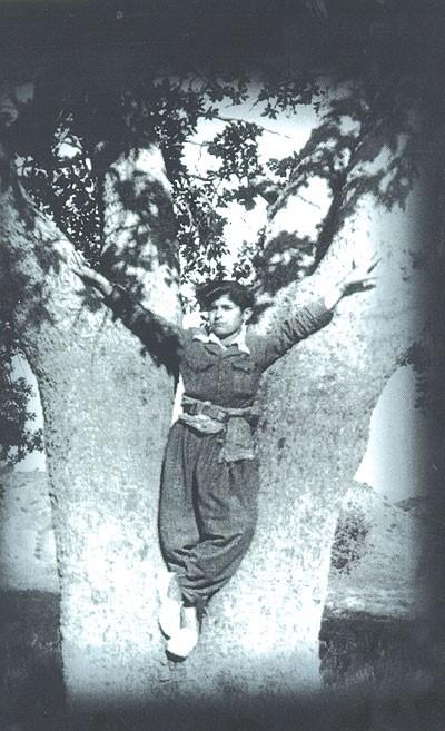 طالباني صبيا في مدينة كويسنجق عام 1946