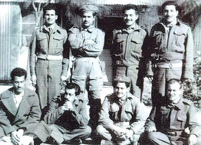 جلال طالباني في كلية الضباط الاحتياط عام 1959
