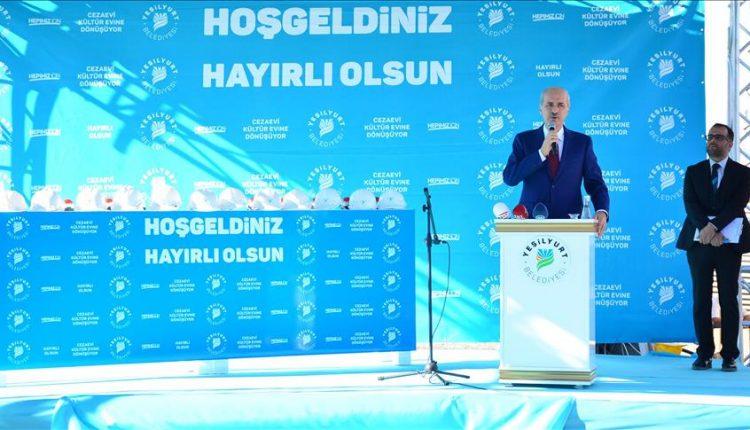 وزير الثقافة والسياحة التركي نعمان قورتولموش