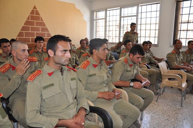 الشرطة العسكرية التابعة لمؤسسة واجب الدفاع الذاتي