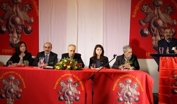 جانب من اللقاء التشاوري للمؤتمر الوطني الكردستاني في هولندا