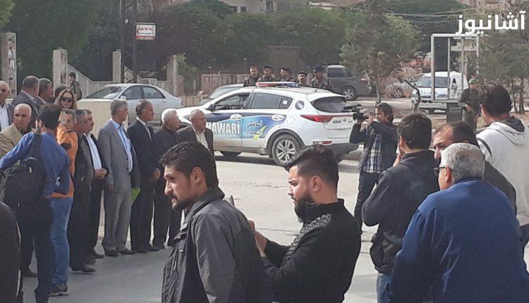 اعتصام انصار المجلس الوطني الكردي