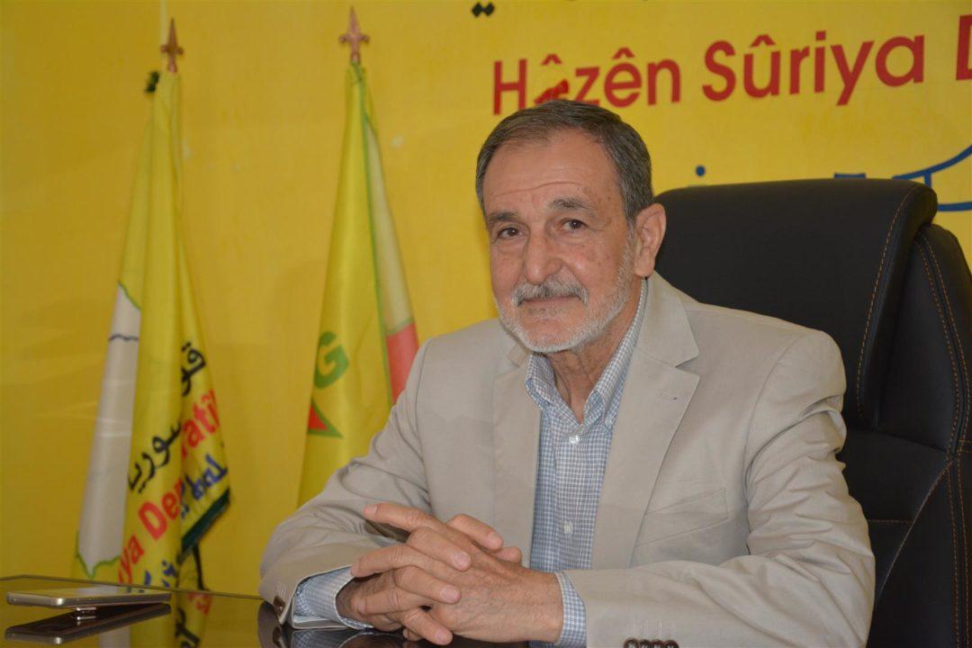 """رئيس مجلس سوريا الديمقراطية يرجع أسباب تمدد النفوذ التركي إلى """"ضعف الدولة السورية"""""""