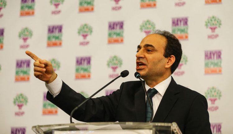 المتحدث باسم حزب الشعوب الديمقراطي عثمان بايدمير