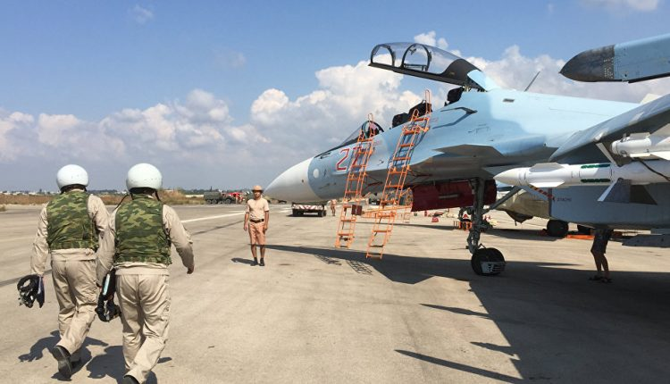قاعدة حميميم الجوية
