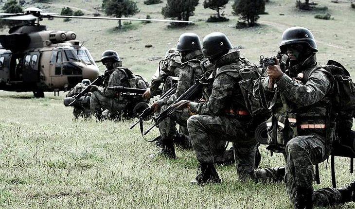 القوات الخاصة التركية Bordo Bereli