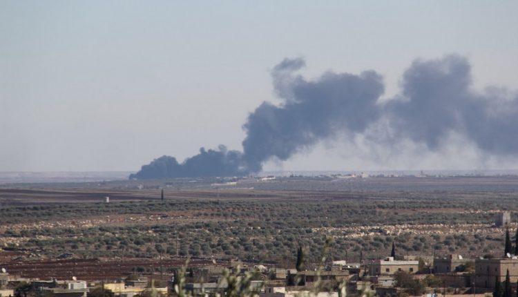 قصف الجيش التركي لمدينة عفرين