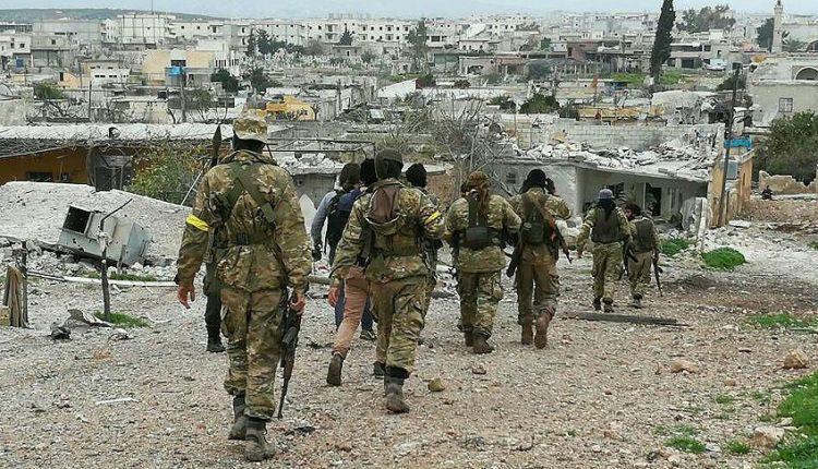 """الجيش التركي يعلن إحكام السيطرة على """"جنديرس"""" في عفرين"""