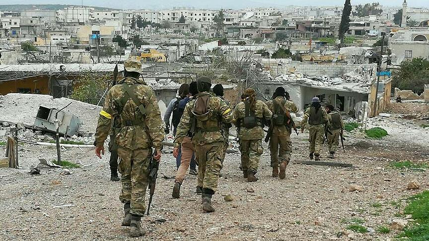 """الجيش التركي يعلن السيطرة على بلدة """"جنديرس"""" في عفرين"""