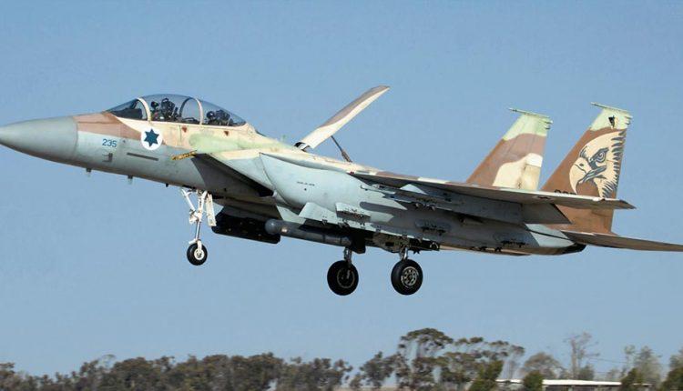 طائرة حربية اسرائيلية