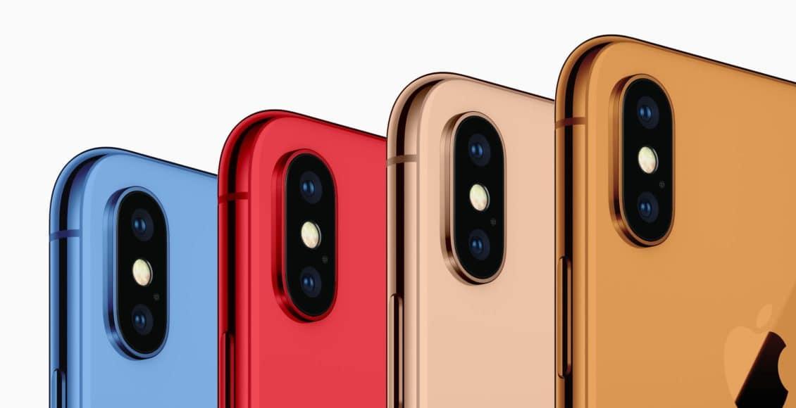 ألوان ايفون X الجديدة