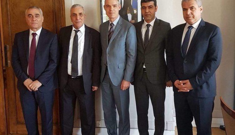 وفد من المجلس الوطني الكردي يلتقي بمسؤولين في الوزارة الخارجية الفرنسي
