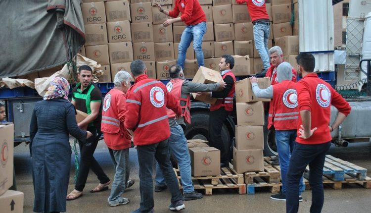 الهلال الأحمر العربي السوري