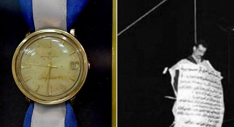 ساعة يد الجاسوس الاسرائيلي إيلي كوهين.