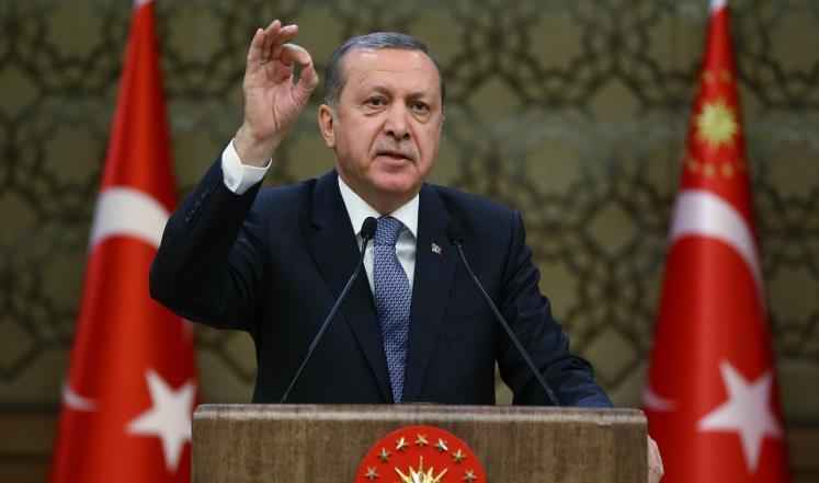 """أردوغان: تركيا ستكرر مافعلته بـ """"داعش"""" مع حزب الاتحاد الديمقراطي (PYD)"""