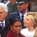 بالفيديو: نظرات بيل كلينتون إلى إيفانكا ترامب تفضحه امام زوجته