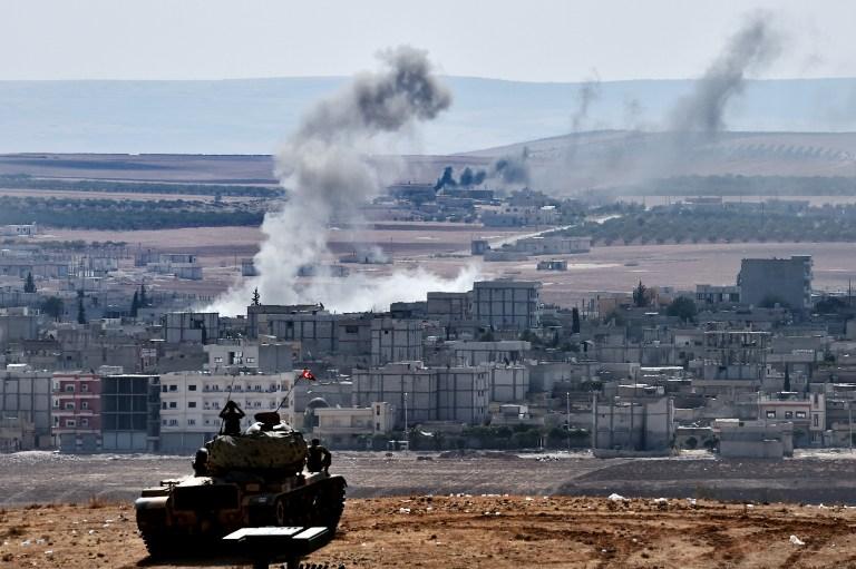 القوات التركية تتوغل في ريف كوباني وتستهدف مواقع لوحدات حماية الشعب YPG