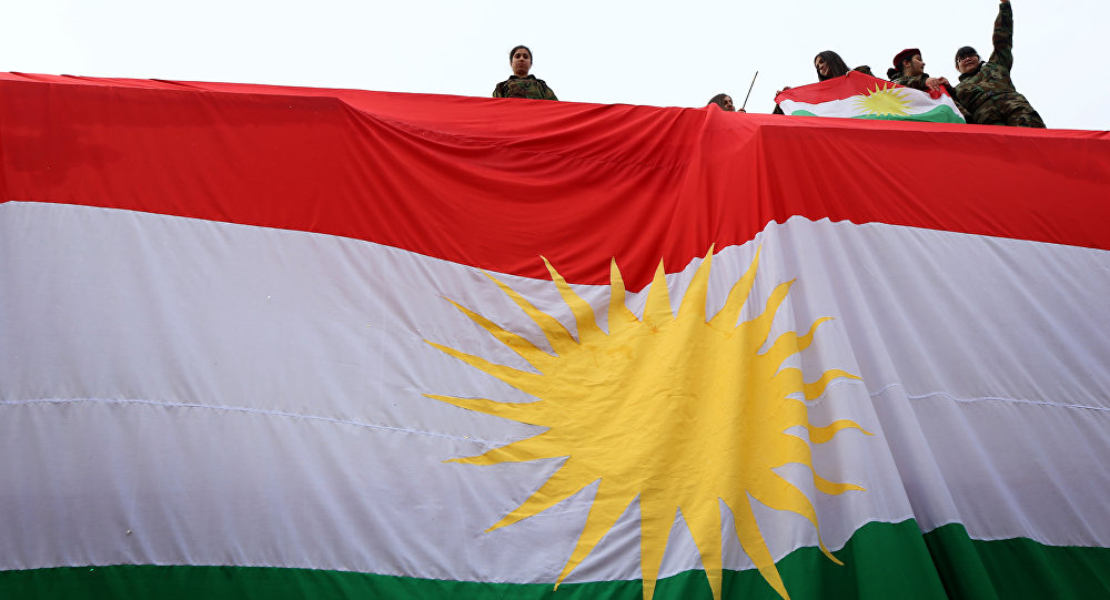قلق أممي واقليمي حيال رفع علم إقليم كردستان في كركوك