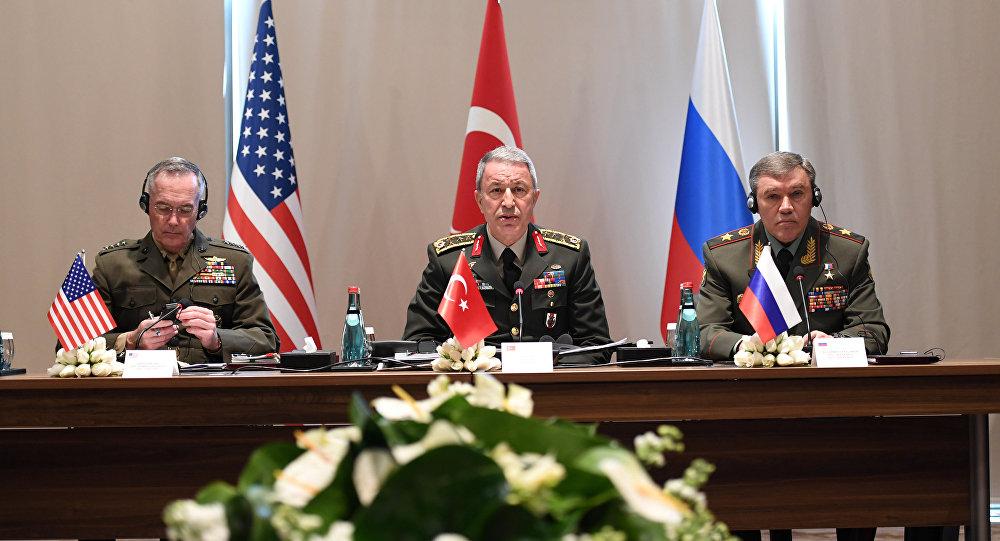 لقاء ثلاثي لقادة هيئات الأركان لبحث مواجهة الإرهاب في سوريا والعراق