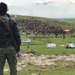 """الآساييش تعلن انتهاء احتفالات """"النوروز"""" بدون تسجيل أي حوادث أو تهديدات إرهابية"""