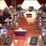 الديمقراطي والاتحاد الوطني يعلنان توحيد الموقف، العمل على الاستقلال، قانونية رفع علم كردستان في كركوك
