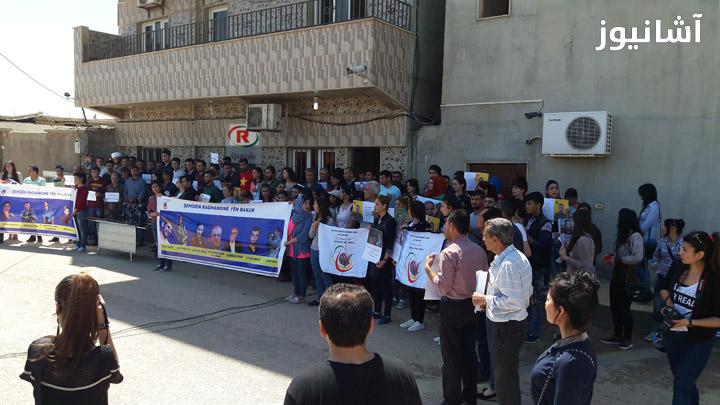 قامشلو: نشطاء وصحفيون ينددون بقرار إغلاق ثلاث قنوات كُردية