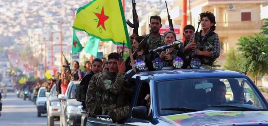 أمريكا ترسل أسلحة جديدة لوحدات حماية الشعب (YPG)