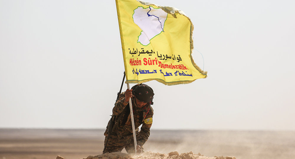 قوات سوريا الديمقراطية تسيطر بشكل كامل على بلدة المنصورة