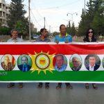 كاتب: المجلس الوطني الكردي اعتصم أمام مقر هيئة متعاقدة مع نظام البعث