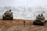 الجيش التركي: قصفنا معاقل العمال الكردستاني والاتحاد الديمقراطي والوحدات في عفرين