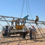 البدء بإصلاح أبراج الكهرباء المتضررة بين مدينة الحسكة والرقة