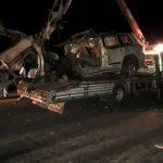 وفاة 5 مدنيين من عائلة واحدة وإصابة آخر في حادث مروري بين تل تمر وقامشلو