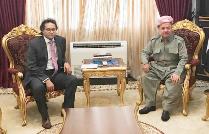 بارزاني: عقلية بغداد لا تختلف عن صدام .. لن نتراجع عن الاستفتاء