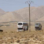 التحالف الدولي يمنع تقدم حافلات داعش إلى البوكمال