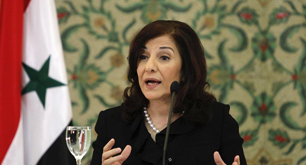 """مستشارة الأسد: ما حدث في كردستان العراق """"ينبغي أن يكون درسا"""" للقوات الكردية"""