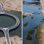 لماذا شيد هذا الجسر بشكل دائري على الرغم من تكلفته المضاعفة؟
