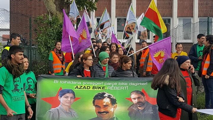 ألمانيا: رغم الحظر مسيرة لانصار العمال الكردستاني تطالب بحرية أوجلان