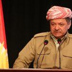 برزاني: دولة كردستان ستكون فيدرالية ديمقراطية مدنية