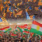 اقليم كتالونيا أول المهنئين بنجاح استفتاء كردستان