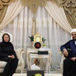 """آلا طالباني تلتقي مع زعيم عصائب اهل الحق في خضم """"انتهاكات الحشد"""""""