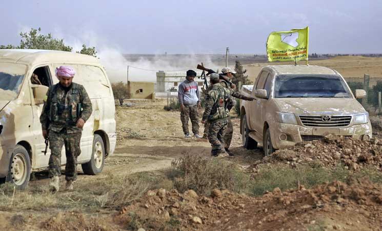 قوات سوريا الديمقراطية تسيطر على مدينة الرقة بشكل كامل