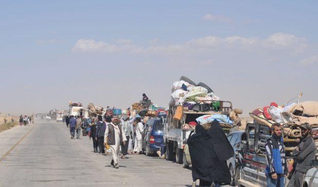 قوات سوريا الديمقراطية تحرر عشرة آلاف مدني
