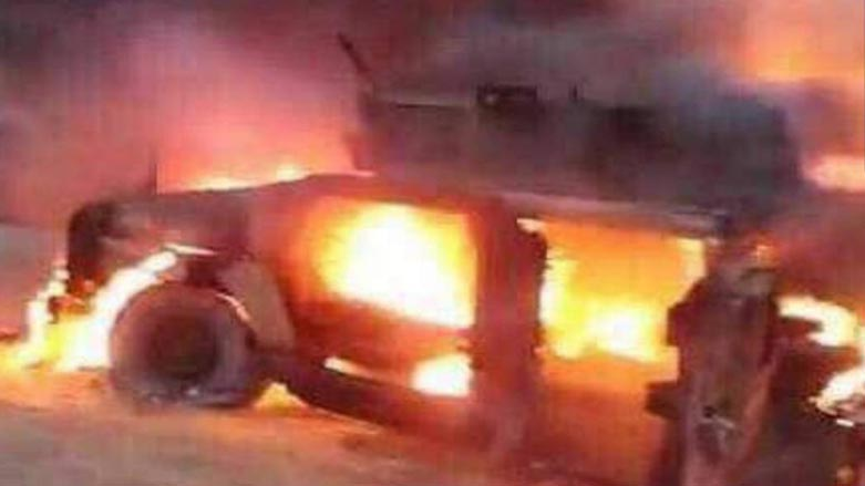 كركوك: البيشمركة تصد هجوم الحشد الشعبي وتدمر 5 عربات هانفي عسكرية