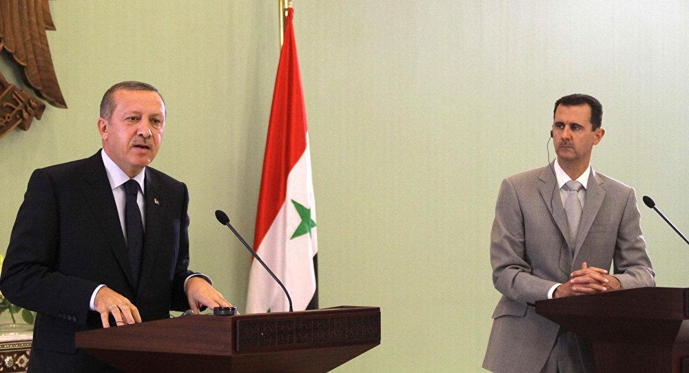 أردوغان يعلن استعداده لاجراء اتصالات مع بشار الأسد